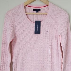 NWT Tommy Hilfiger cable knit sweater size S